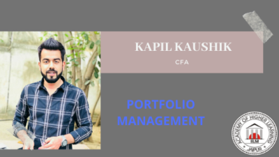 Portfolio Management Session at IILM by CFA Kapil Kaushik