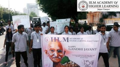 Gandhi Jayanti at IILM-AHL Jaipur